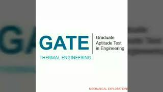 GATE- properties of Gases and Gas mixture