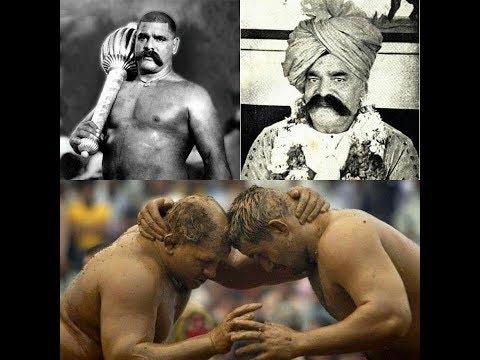 rustam e zaman Gama pehlwan jee dangal Bashir bhola bhala vs Azim pehlwan