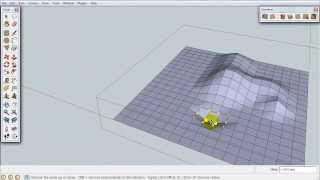 getlinkyoutube.com-Уроки по SketchUp. Ландшафт. Урок 1