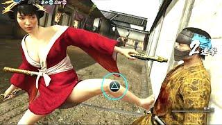 getlinkyoutube.com-龍が如く維新 遊郭嬢【杏南ちゃんで大暴れ!→見えてる・・・】