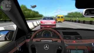 getlinkyoutube.com-City Car Driving - Mercedes Benz S600 W220