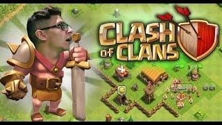 CLASH OF CLANS: L'INIZIO DELLA NOSTRA AVVENTURA!!