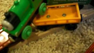 getlinkyoutube.com-ThomasWoodenRailway's Percy's Predicament