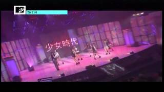 getlinkyoutube.com-091206 MTV The M 少女時代 - Gee+WTG+Genie.avi