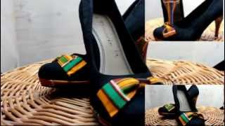 DIY: How to design your heels with (Kente) African print