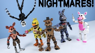 getlinkyoutube.com-Five Nights at Freddy's Nightmare Action Figures Funko with Nightmarionne