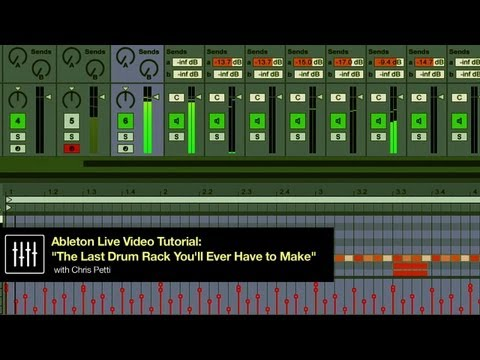 The Last Drum Rack You'll Ever Have to Make - Dubspot Ableton Live Tutorial