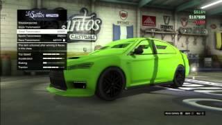 getlinkyoutube.com-جراند 5 تضبيط السياره الجديده GTA5