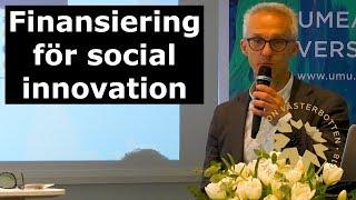 SIN18 - Finansiering för social innovation