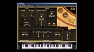 getlinkyoutube.com-Blue Grand 3D (virtual grand piano) - Song For Guy