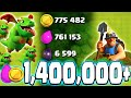 NEW TROOP FARMING! - Clash of Clans - Millions of Loot With the Miner and Baby Dragon Strategy!