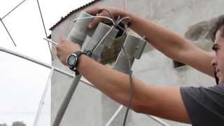 getlinkyoutube.com-Kit Carona C3(C2)C1 em antena parabólica de 2,30m,