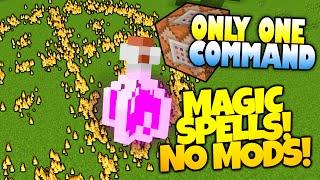 getlinkyoutube.com-Minecraft | MAGIC | Bend Gravity, Summon Meteors & More! | Only One Command (Minecraft Redstone)