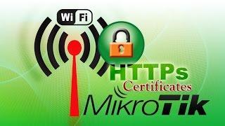 getlinkyoutube.com-Redirect HTTPS Hotspot Login Page Mikrotik Self-Signed Certificate