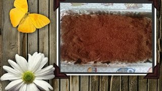 getlinkyoutube.com-Tiramisù con mascarpone nutella e panna (no uova)
