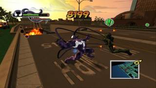 getlinkyoutube.com-Ultimate Spider-Man: Playng as Venom