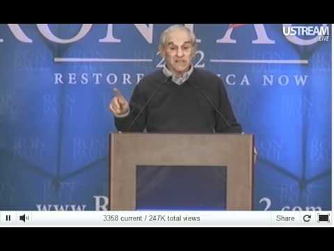 Ron Paul Liberty Speech SC 1-15-2012