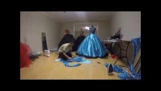 getlinkyoutube.com-Making of PPG dresses pt.2