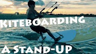 getlinkyoutube.com-SUP kiteboarding
