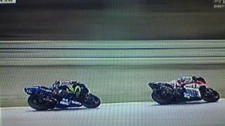 MotoGp Qatar 2017 - Giri finali Vinales vs Dovizioso vs Rossi - telecronaca Guido Meda