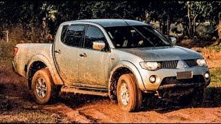 getlinkyoutube.com-Mitsubishi L200 vs Toyota Hilux | NA LAMA