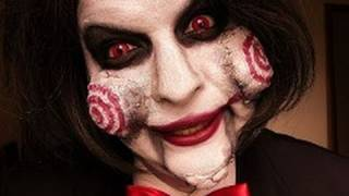 getlinkyoutube.com-jigsaw billy make up tutorial halloween