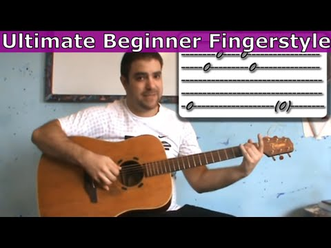The Only Beginner Fingerstyle Lesson You'll Ever Need  [Guitar Tutorial]