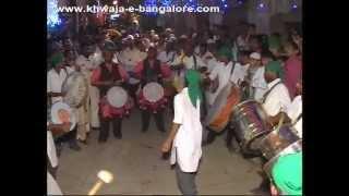 100th Urs Sharif Khwaja-e-Bangalore ( RA ) # Part 3 (* Tasha Band *)