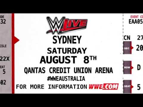 WWE Live Tour returns to Australia
