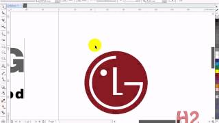 getlinkyoutube.com-Cara Mudah Membuat Logo LG menggunakan CorelDraw X7