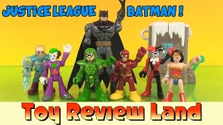 Justice League Batman Imaginext Adventure: with The Joker, Wonder Woman, Green Arrow, & The Flash!
