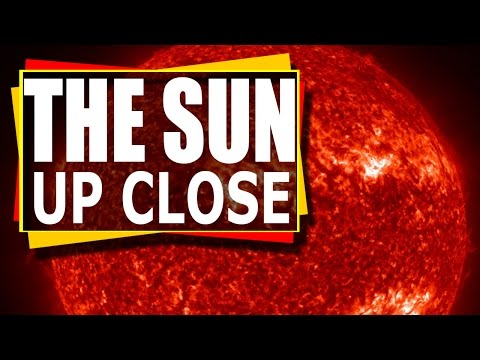 The Sun  - Stunning close up time lapse video of our sun - showing solar flares , CMES