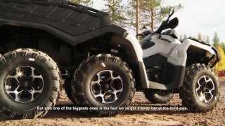 getlinkyoutube.com-2015 Can-Am Outlander 6x6 ATV Features - 6-FEEL DRIVE