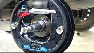 getlinkyoutube.com-Frenos traseros de tambor Chevrolet Chevy/Corsa