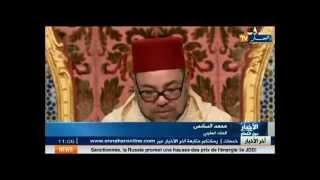 """getlinkyoutube.com-قناة جزائرية """"النهار"""" تنتقد خطاب العرش للملك محمد السادس و تتهكم على عيد العرش"""