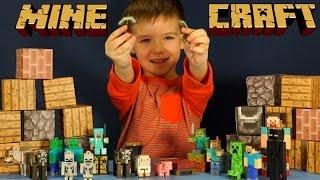 Игрушки Майнкрафт. Бумажный конструктор Майнкрафт. Minecraft Toys. Детский канал Кока Туб