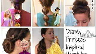getlinkyoutube.com-Disney Princess Inspired Hairstyles