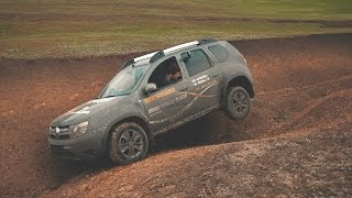 getlinkyoutube.com-Renault Duster и бездорожье