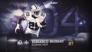 getlinkyoutube.com-#4 DeMarco Murray (RB, Cowboys) | Top 100 Players of 2015