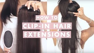 getlinkyoutube.com-How to Clip In Luxy Hair Extensions