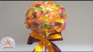 getlinkyoutube.com-➭ÁRBOL DE CARAMELOS /CANDY TREE