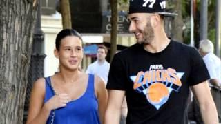 Benzema paseo con su novia y silenció sobre su amante