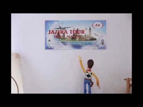 Jazira Tour advertisement video