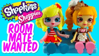 getlinkyoutube.com-Shopkins Lil' Shoppies Look For A New Roommate | Popette Sings In The Shower