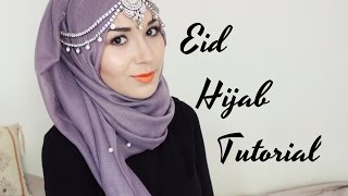 getlinkyoutube.com-HIJAB TUTORIAL | EID/PARTY @NABIILABEE