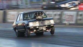 getlinkyoutube.com-Mental 540ci V8 blown Torana
