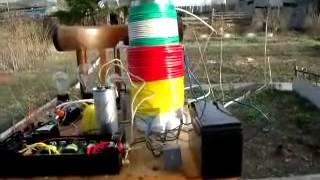 getlinkyoutube.com-Бестопливный генератор в работе