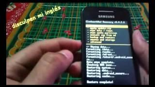 getlinkyoutube.com-Rom original/Samsung Galaxy Ace GT-S5830 M,i,C/Sin pc
