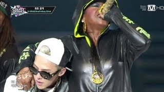 getlinkyoutube.com-G-DRAGON_0829_M Countdown K-CON in LA_늴리리야 (ft. Missy Elliott)