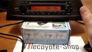 getlinkyoutube.com-Tutorial installazione interfaccia AUX USB Yatour su radio Fiat Alfa Lancia